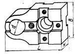 Планка шириной 60 мм с установочным отверстием диаметром 26 мм