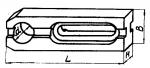 Планка шириной 60 мм с установочным отверстием  диаметром 35; 45