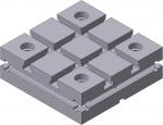 Плита квадратная