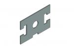 Прокладка прямоугольная 30х45 со смещенными т-образными пазами