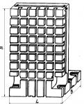 Угольник базовый высотой 600 мм