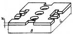 Прокладка прямо-угольная 90 х 120 мм