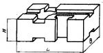 Подкладка прямо-угольная 60 х 90 мм