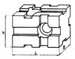 Опора прямоугольная 60 х 90 мм, высотой 60 мм