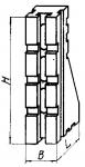 Угольник установочный с основанием  60х120 мм
