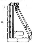 Угольник установочный с основанием 90х240 мм