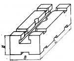 Планка шириной  60 мм с Т-образным  пазом