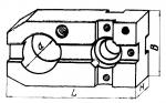Планка шириной  60 мм с установоч  ным отверстием  диаметром 35;