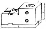 Планка с установочным отверстием диаметром 35; 45 мм