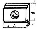 Шпонки привертные переходные от 16 к 12 мм