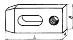 Прихваты передвижные длиной до 160 мм