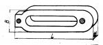 Прихваты передвижные длиной до 250 мм